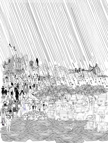 ilustração de julho - Juliana Russo