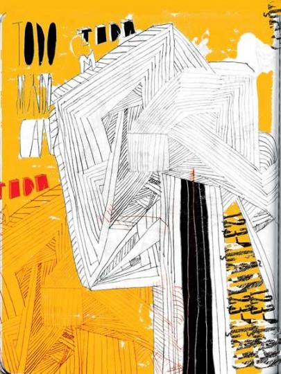 Cartaz de agosto - Ilustração de Ronaldo Alves